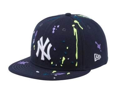 New Era 59FIFTY New York Yankees Splash Embroidery Navy/Snow Whiteの写真