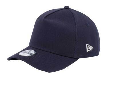 New Era Youth 9FORTY A-Frame Essential Navy/Metallic Silverの写真