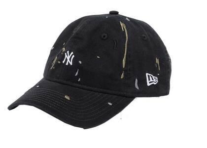 New Era 9THIRTY New York Yankees Mini Logo Splash Embroidery Blackの写真