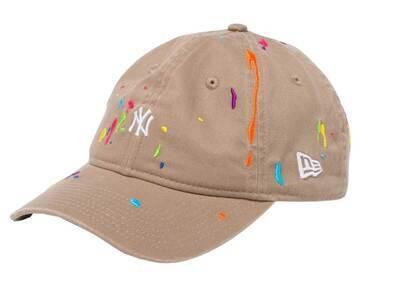 New Era 9THIRTY New York Yankees Mini Logo Splash Embroidery Khakiの写真