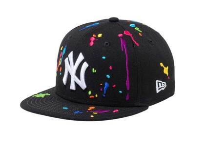 New Era Youth 9FIFTY New York Yankees Splash Embroidery Blackの写真