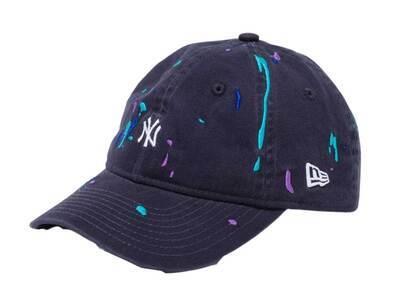 New Era Youth 9TWENTY New York Yankees Splash Embroidery Mini Logo Navyの写真