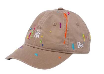 New Era Youth 9TWENTY New York Yankees Splash Embroidery Mini Logo Khakiの写真