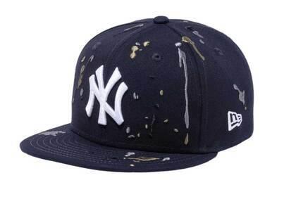 New Era Youth 9FIFTY New York Yankees Splash Embroidery Navyの写真