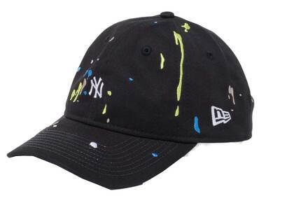 New Era 9THIRTY New York Yankees Splash Embroidery Mini Logo Black/Snow Whiteの写真