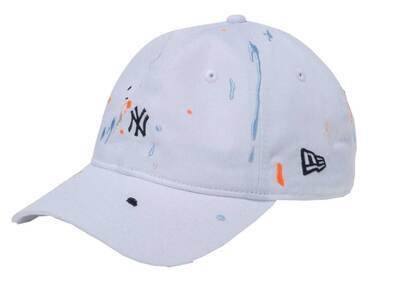 New Era 9THIRTY New York Yankees Splash Embroidery Mini Logo White/Blackの写真