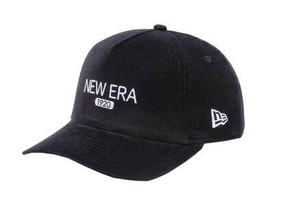 New Era Youth 9FORTY A-Frame Micro Corduroy Blackの写真