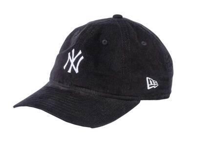 New Era Youth 9TWENTY New York Yankees Micro Corduroy Blackの写真