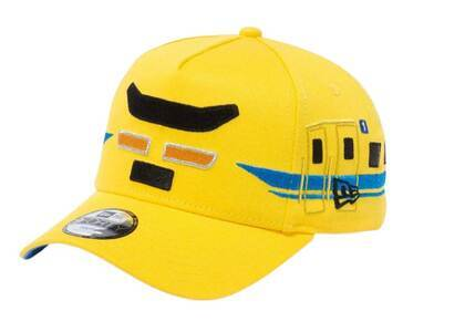 New Era Youth 9FORTY A-Frame Plarail Class 923 Dr.yellow Cyber Yellowの写真
