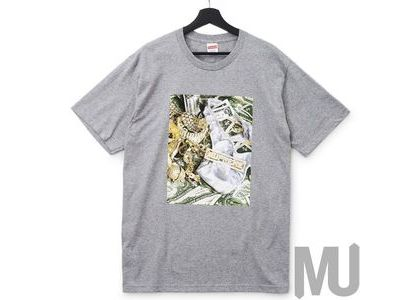 Supreme Bling Tee Heather Greyの写真