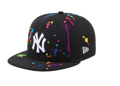 New Era 9FIFTY New York Yankees Splash Embroidery Blackの写真