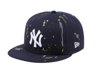 New Era 9FIFTY New York Yankees Splash Embroidery Navyの写真