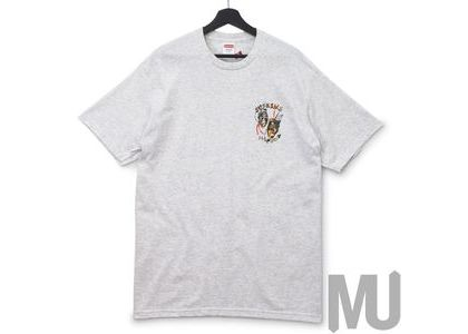 Supreme Laugh Now Tee Ash Greyの写真