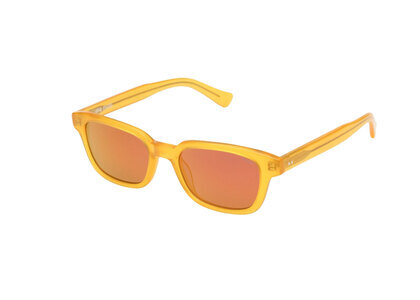 Stussy Owen Sunglasses Frosted Yellow (SS21)の写真