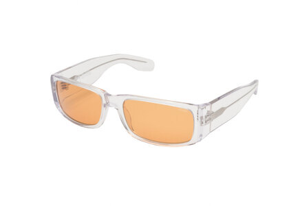 Stussy Eric Sunglasses Clear (SS21)の写真
