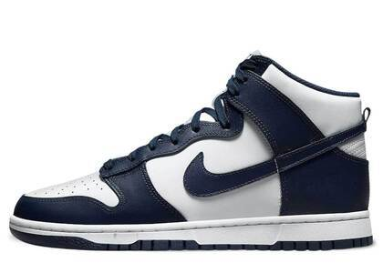 Nike Dunk High Midnight Navyの写真