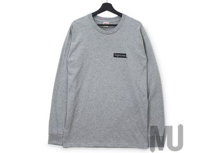 Supreme Sacred Unique L-S Tee Heather Greyの写真