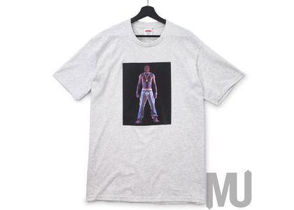 Supreme Tupac Hologram Tee Ash Greyの写真