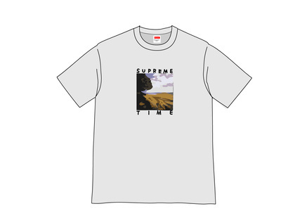 Supreme Supreme Time Tee Heather Greyの写真