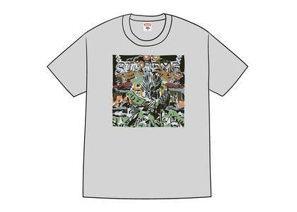 Supreme Dragon Tee Heather Greyの写真
