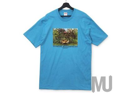 Supreme Masterpieces Tee Light Slateの写真