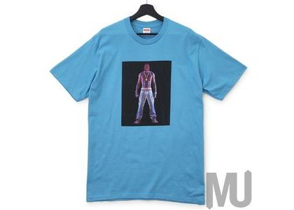 Supreme Tupac Hologram Tee Light Slateの写真