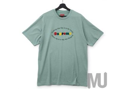 Supreme Nothing Else S-S Top Dusty Tealの写真