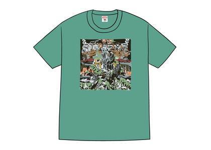 Supreme Dragon Tee Dusty Tealの写真