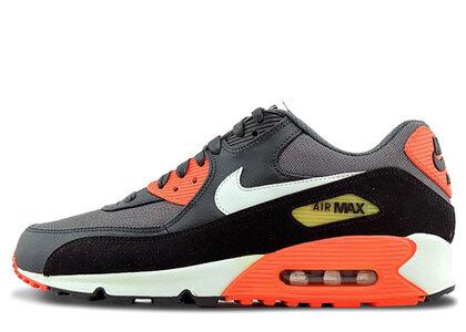 Nike Air Max 90 Dark Grey Black Total Crimsonの写真