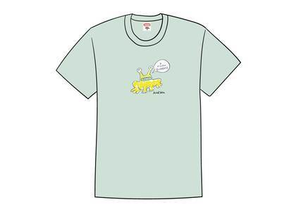 Supreme Daniel Johnston Frog Tee Light Tealの写真