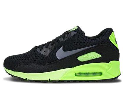Nike Air Max 90 CMFT Black Dark Grey Flash Limeの写真