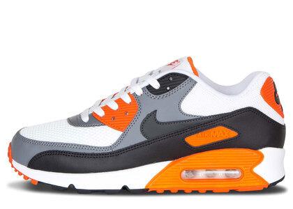 Nike Air Max 90 White Grey Orangeの写真