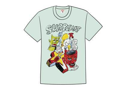 Supreme Daniel Johnston Tee Light Tealの写真