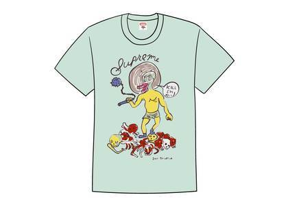 Supreme Daniel Johnston Kill Em All Tee Light Tealの写真