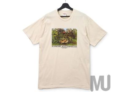 Supreme Masterpieces Tee Naturalの写真