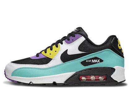 Nike Air Max 90 Black Bright Violet Whiteの写真