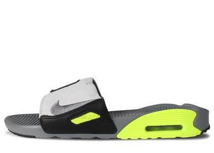 Nike Air Max 90 Slide Smoke Grey Volt Blackの写真