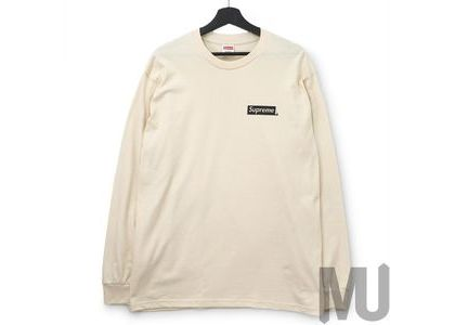 Supreme Sacred Unique L-S Tee Naturalの写真