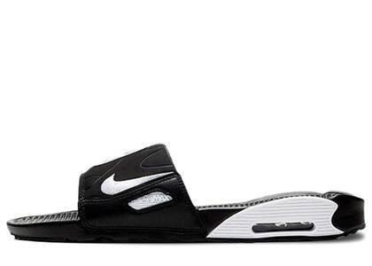 Nike Air Max 90 Slide Black Whiteの写真