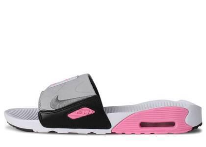 Nike Air Max 90 Slide White Rose Cool Greyの写真