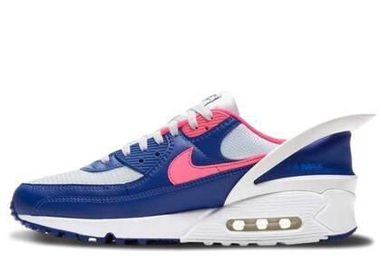 Nike Air Max 90 Flyease Deep Royal Blue Hyper Pinkの写真