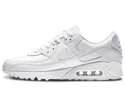 Nike Air Max 90 Leather Triple White 2020の写真