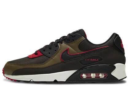 Nike Air Max 90 Velvet Brown University Redの写真