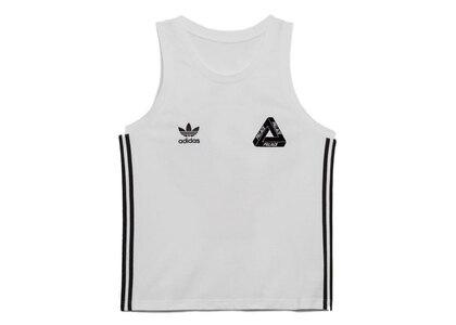 Palace × Adidas Graphic Vest White (FW21)の写真