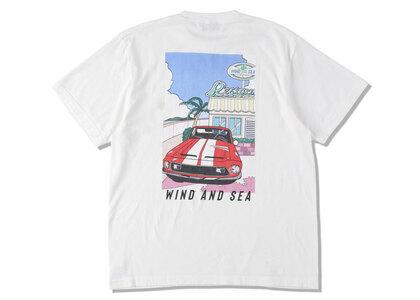 Yoshifuku Honoka × WIND AND SEA Tee Car Whiteの写真
