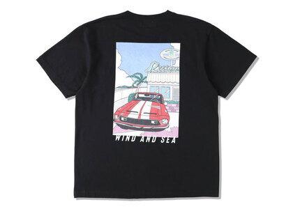 Yoshifuku Honoka × WIND AND SEA Tee Car Blackの写真