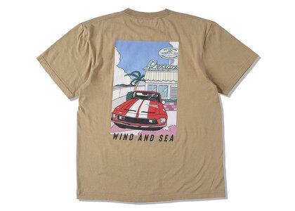 Yoshifuku Honoka × WIND AND SEA Tee Car Sand Khakiの写真