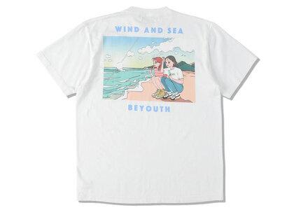 Yoshifuku Honoka × WIND AND SEA Tee Beach Whiteの写真
