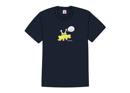 Supreme Daniel Johnston Frog Tee Navyの写真