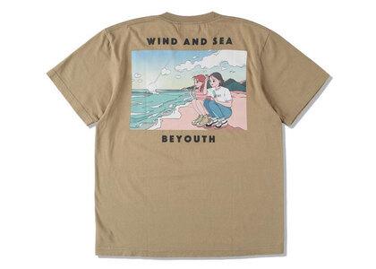 Yoshifuku Honoka × WIND AND SEA Tee Beach Sand Khakiの写真